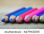 color pencil | Shutterstock . vector #467942045