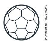 football vector icon | Shutterstock .eps vector #467970248