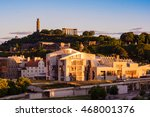 the scottish parliament... | Shutterstock . vector #468001376