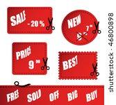 vector shopping sign | Shutterstock .eps vector #46800898