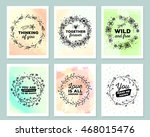 vector collection of colorful... | Shutterstock .eps vector #468015476
