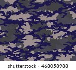 fashionable camouflage pattern  ... | Shutterstock .eps vector #468058988