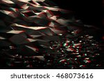 glitch abstract background. 3d... | Shutterstock . vector #468073616