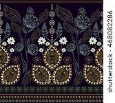 striped seamless pattern.... | Shutterstock .eps vector #468082286
