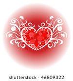 heart love design | Shutterstock .eps vector #46809322