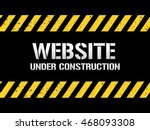 website under construction | Shutterstock .eps vector #468093308