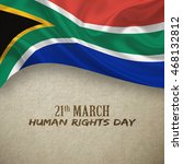 south africa human rights day... | Shutterstock . vector #468132812