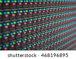 led screen displays when you... | Shutterstock . vector #468196895