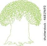 tree logo | Shutterstock .eps vector #46819693