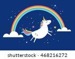 unicorn vector illustration | Shutterstock .eps vector #468216272