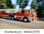 Firetruck In Motion