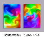 blurred rainbow backgrounds. ... | Shutterstock .eps vector #468234716