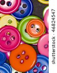 colorful buttons | Shutterstock . vector #46824547