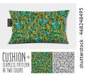 design vector pillow  cushion . ... | Shutterstock .eps vector #468248495
