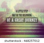 inspirational quote  ... | Shutterstock . vector #468257012