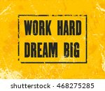 inspiring motivation quote with ... | Shutterstock .eps vector #468275285