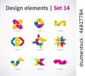 business design elements   icon ... | Shutterstock .eps vector #46827784