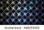 unusual intricate metal grille. ... | Shutterstock . vector #468293402