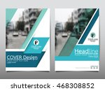 blue technology cover business... | Shutterstock .eps vector #468308852