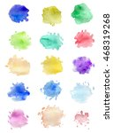 set of abstract vector... | Shutterstock .eps vector #468319268