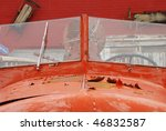 old fire engine detail in a...   Shutterstock . vector #46832587