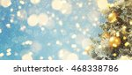 christmas background  | Shutterstock . vector #468338786