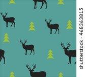 seamless vector background.... | Shutterstock .eps vector #468363815