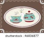 sweet tea design | Shutterstock .eps vector #46836877