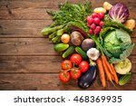 assortment of the fresh... | Shutterstock . vector #468369935
