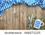 rustic background for... | Shutterstock . vector #468371225
