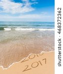 new year 2017 is coming concept.... | Shutterstock . vector #468372362