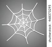 the spiderweb icon | Shutterstock .eps vector #468373295