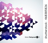 awesome geometric background... | Shutterstock .eps vector #468385826