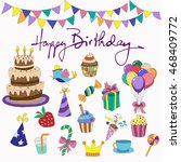 color set dedicated to the... | Shutterstock .eps vector #468409772