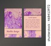 abstract creative card... | Shutterstock .eps vector #468413972