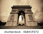 paris  france   may 13  arc de... | Shutterstock . vector #468419372