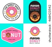 set of badges  banner  labels... | Shutterstock .eps vector #468423542