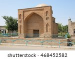 Small photo of Karashash-Ana mausoleum in Sayram near Shymkent, Kazakhstan.
