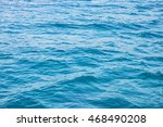 blue sea | Shutterstock . vector #468490208
