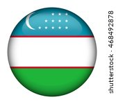 round glossy button with flag... | Shutterstock .eps vector #468492878