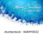 abstract christmas background... | Shutterstock .eps vector #468493022