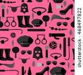 bdsm seamless pattern....   Shutterstock .eps vector #468497822