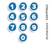 number set label vector | Shutterstock .eps vector #468499862