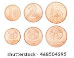 set republic of belarus coins ...   Shutterstock . vector #468504395