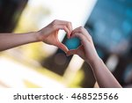 detail of two different female...   Shutterstock . vector #468525566