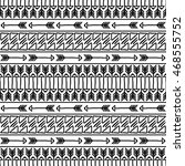 hand drawn seamless pattern... | Shutterstock .eps vector #468555752