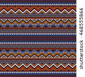 hand drawn seamless pattern... | Shutterstock .eps vector #468555866
