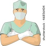 surgeon | Shutterstock .eps vector #46856404