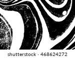 ink texture. ebru  traditional... | Shutterstock .eps vector #468624272