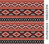 Tribal Pattern Vector Seamless...
